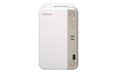 QNAP TS-251B-2G SOHO Intel Dual-Core-NAS-System,...