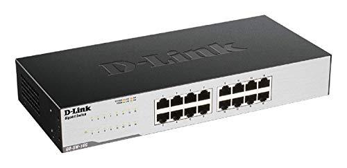 D-Link GO-SW-16G Gigabit Easy Ethernet Gigabit Desktop...