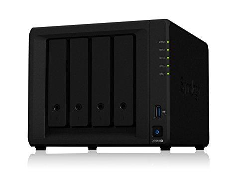 SYNOLOGY Diskstation DS918+ NAS-Service, 4 Bahias, Intel...