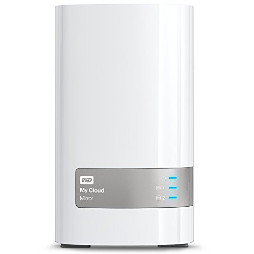 Western Digital 4TB (2x2TB) My Cloud Mirror Gen 2, NAS 2...
