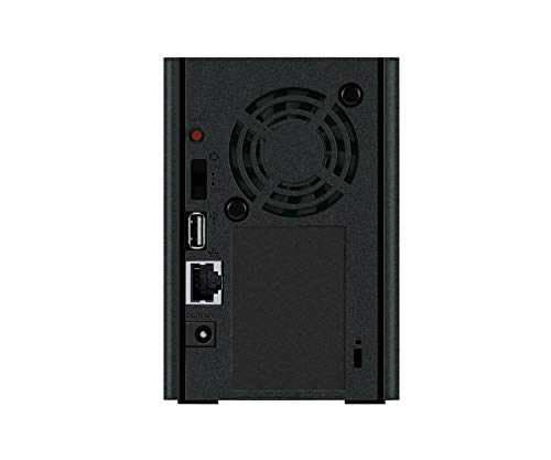 Buffalo LinkStation LS220DR0402-EU, 2-Bay Desktop NAS mit 4...