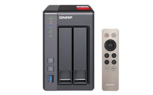 QNAP TS-251+-2G Intel-Quad-Core-NAS-System, HDMI-Support,...