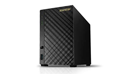 Asustor AS3102T V2 2-Bay NAS System (Intel Celeron 1.6GHz...