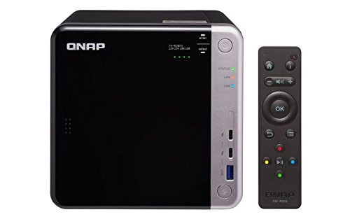 QNAP TS-453BT3-8G NAS-Gehäuse, Thunderbolt 3, 10GbE,...