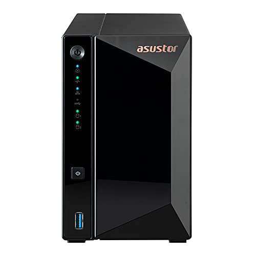 Asustor Drivestor 2 Pro AS3302T 2 Bay NAS Server -...