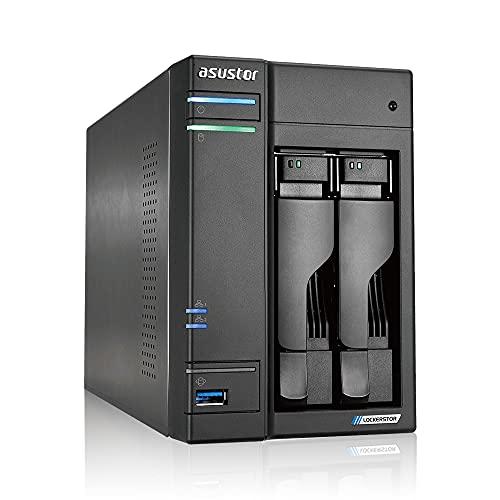 Asustor Lockerstor 2 AS6602T 2 Bay NAS - Netzwerkspeicher...