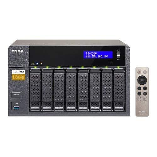 QNAP TS-853A-4G 8 Bay Desktop NAS Gehäuse mit 4GB RAM
