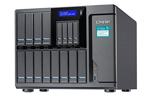 QNAP TS-1635-4G 16 Bay Desktop-NAS-Gehäuse mit 4GB RAM