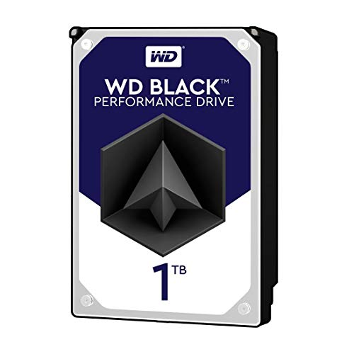 WD Black 1TB Performance Desktop  Hard Disk Drive - 7200 RPM...