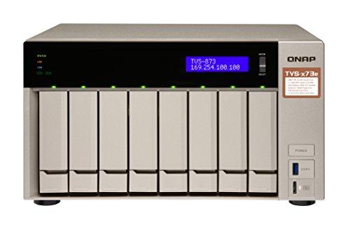 QNAP TVS-873e-4G, AMD RX-421 BD Quad-Core APU NAS-System,...