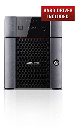 Buffalo TS3410DN1604-EU TeraStation 3410DN 4-Bay Desktop NAS...