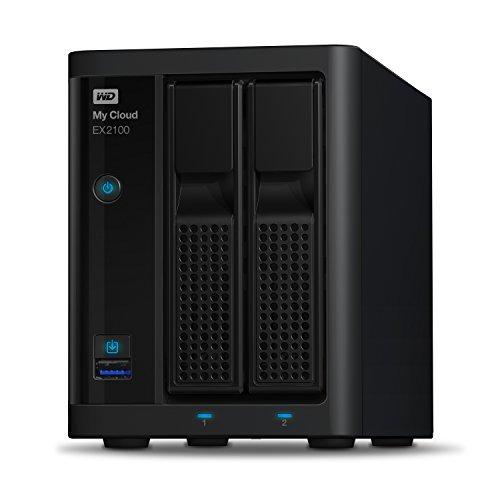Western Digital 12TB My Cloud EX2100 Expert Series 2-Bay NAS...