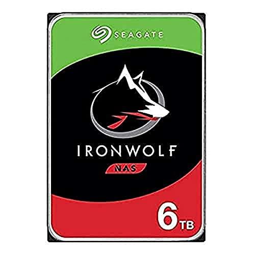 SeagateIronWolf 6 TB HDD, NAS interne Festplatte (8, 9 cm...