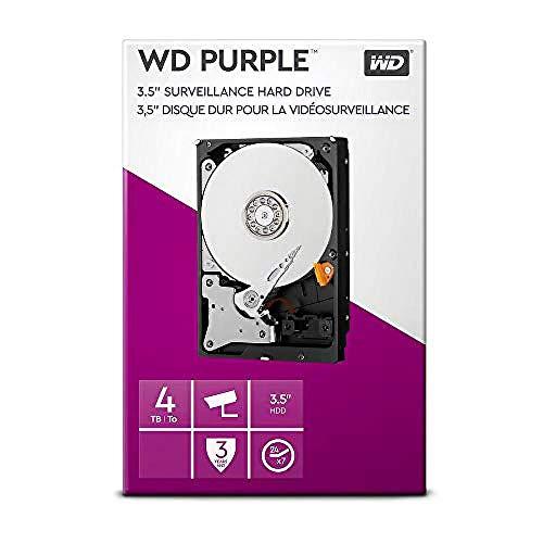WD Purple 4TB Überwachung 3,5 Zoll Interne Festplatte –...