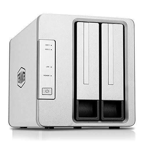 TerraMaster F2-221 NAS 2Bay Cloud Speicher Intel Dual-Core...