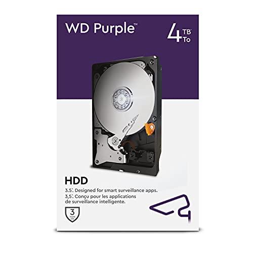 WD Purple 4 TB Überwachung 3,5 Zoll Interne Festplatte –...