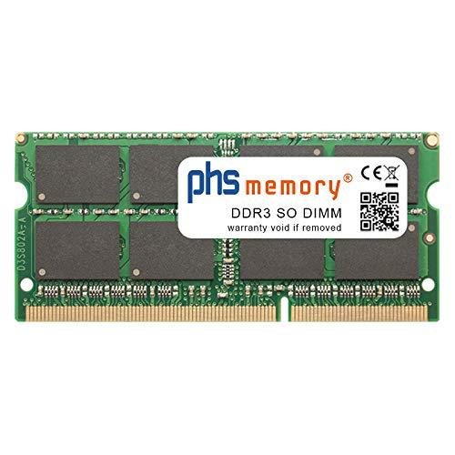 PHS-memory 8GB RAM Speicher für Asustor AS6204T DDR3 SO...