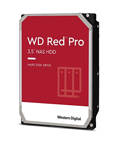 WD Rot Pro 2TB 3.5' NAS Interne Festplatte - 7200 RPM -...