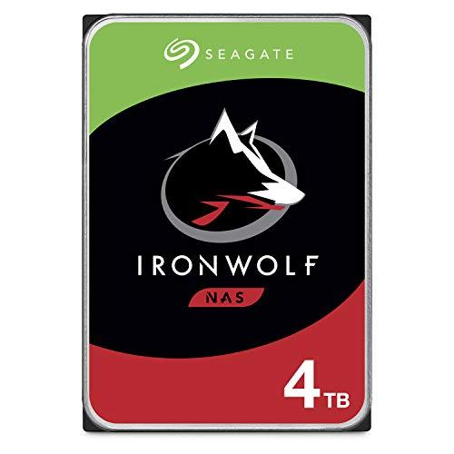 Seagate IronWolf, NAS interne Festplatte 4 TB HDD, 3.5 Zoll,...