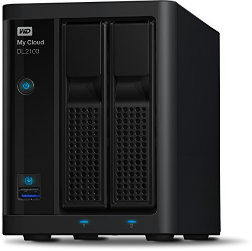 Western Digital Diskless My Cloud DL2100 Business Series NAS...