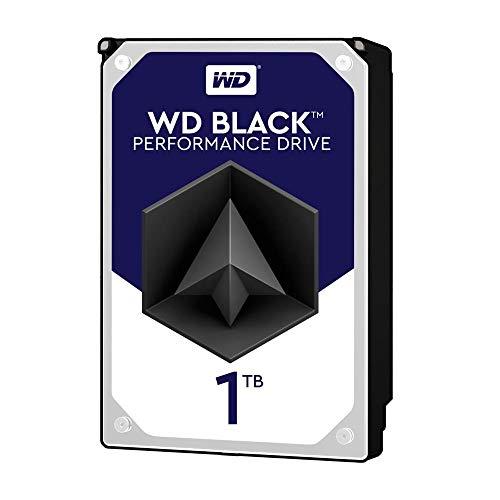 WD Black 1TB Performance Desktop Hard Disk Drive - 7200 RPM...