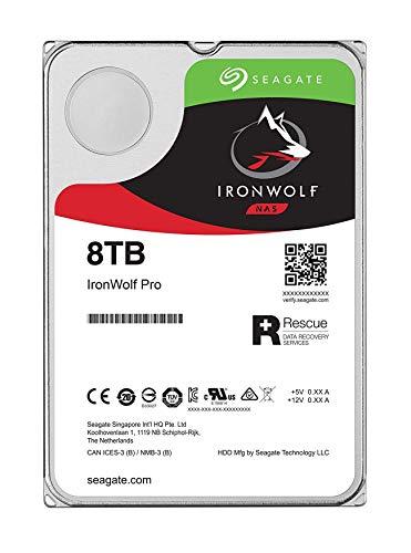 Seagate IronWolf Pro 8 TB HDD, NAS interne Festplatte (8, 9...