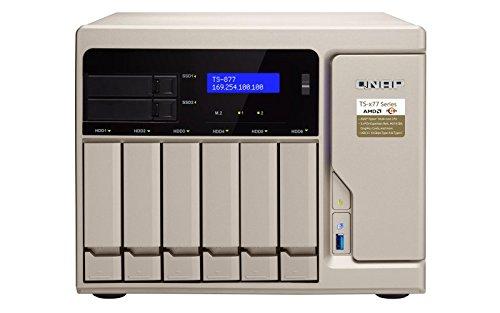 QNAP TS-877-1600-8G, Ryzen-basiertes NAS-Systen, bis zu 8...