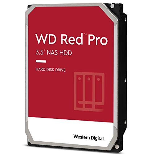 WD Rot Pro 4TB 3.5' NAS Interne Festplatte - 7200 RPM -...