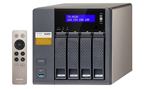 QNAP TS-453A-4G 4 Bay Desktop NAS Gehäuse mit 4GB RAM