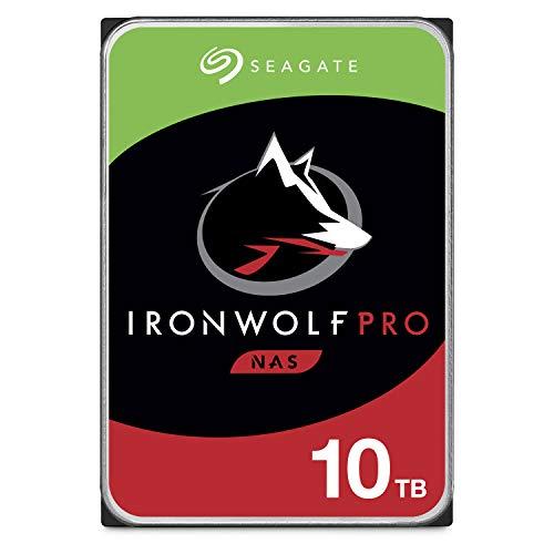 Seagate IronWolf Pro 10TB NAS interne Festplatte HDD - CMR...