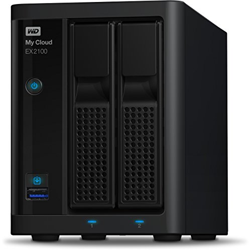 Western Digital 12TB My Cloud EX2100 Expert Series 2-Bay NAS...