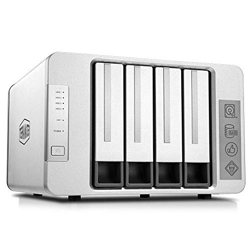 TerraMaster F4-210 4-Bay NAS Quad Core 1GB RAM Raid Gehäuse...