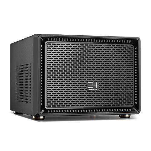 GOLDEN FIELD N-1 Mini ITX Gehäuse PC Gehäuse für Desktop...