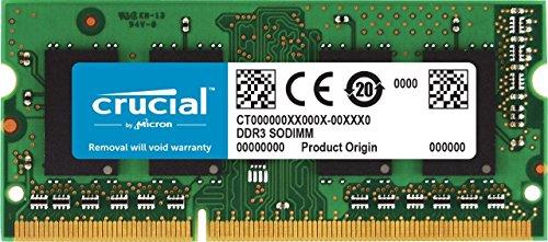 Crucial RAM CT102464BF160B 8GB DDR3 1600 MHz CL11...