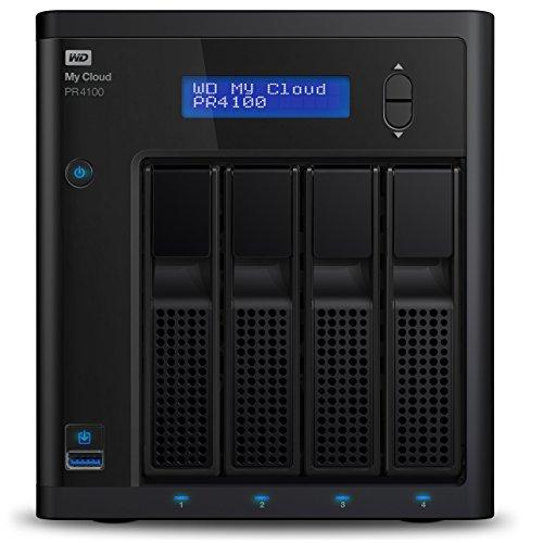 WD Diskless My Cloud Pro PR4100 Pro Serie 4-Bay Network...