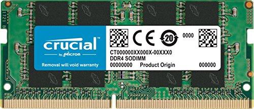Crucial RAM CT8G4SFS824A 8GB DDR4 2400 MHz CL17...