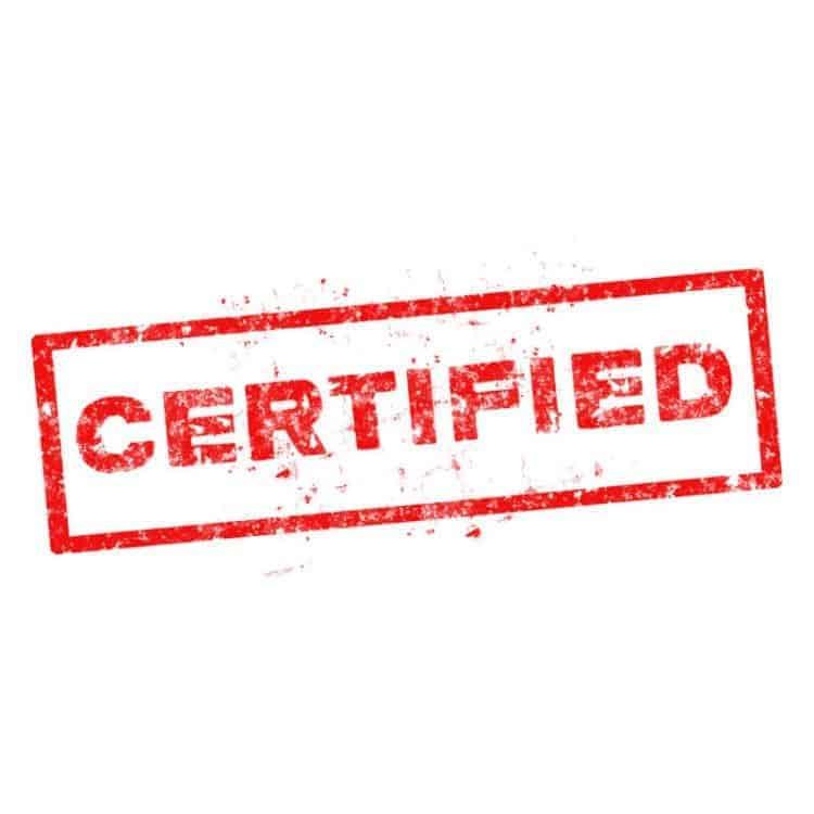 NAS Server - Zertifizierung
