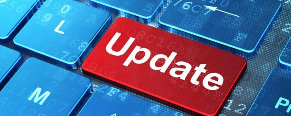 Update für NAS Software