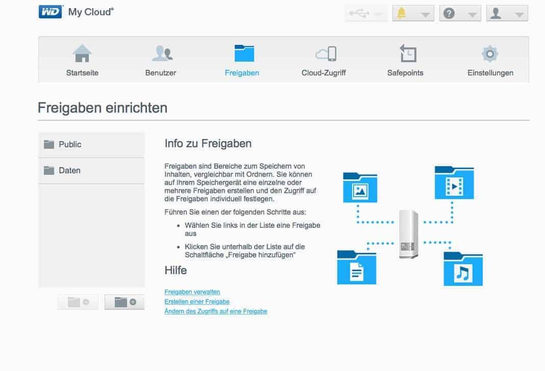 """MyCloud OS: Was kann das """"kleine"""" NAS-Betriebssystem? › Nasserver"""