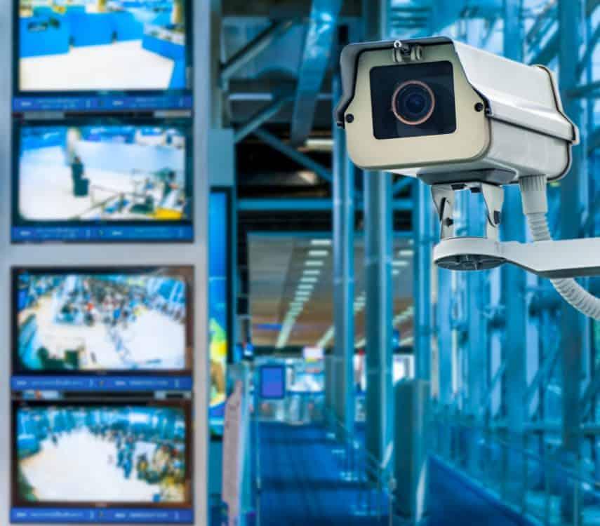 Überwachungskamera einer Synology Surveillance Station