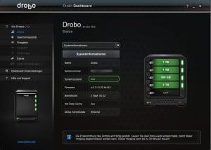 Dashboard Systemstatus