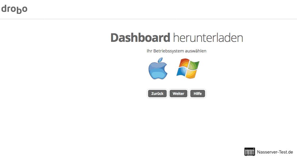 Drobo Assistent Dashboard herunterladen