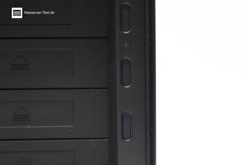 Drobo 5N2 Festplatten LED's