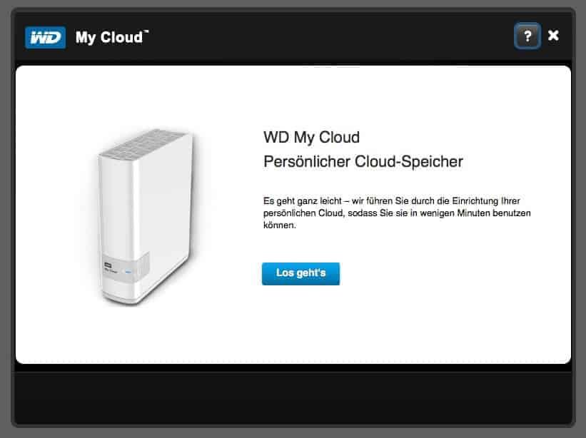 WD MyCloud persönliche Cloud