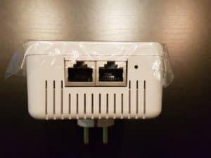 Devolo dLAN 1200+ WiFi ac Adapter LAN Anschlüsse