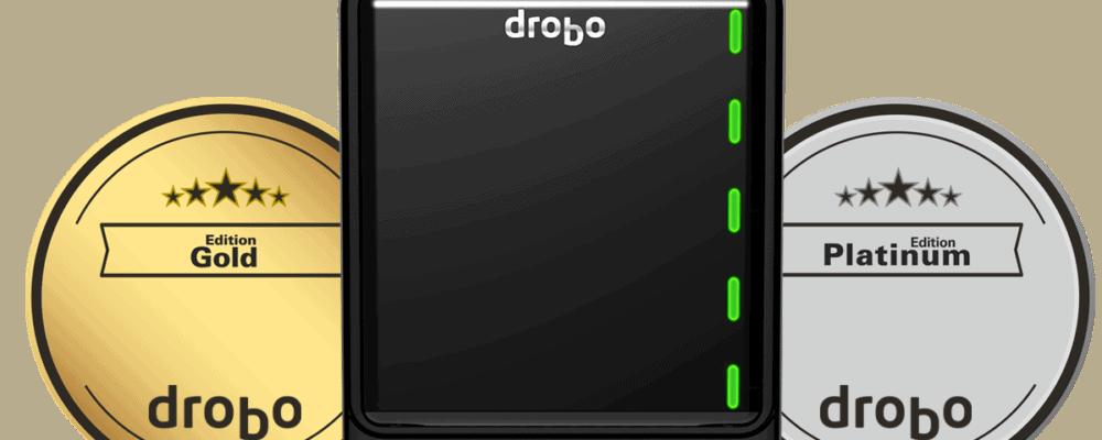 Drobo 5N2 Gold und Drobo 5D3 Gold