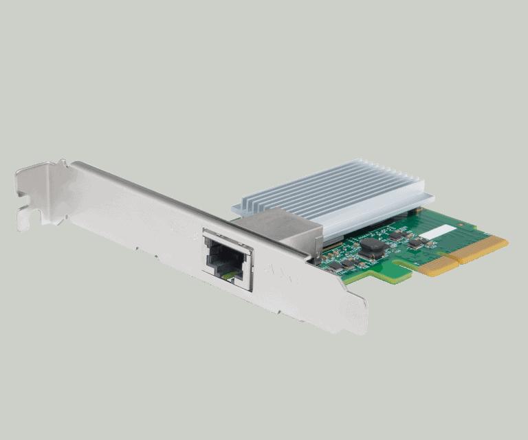 PCIe-Netzwerkkarte LGY-PCIE-MG - Bild: © Buffalo Pressematerial