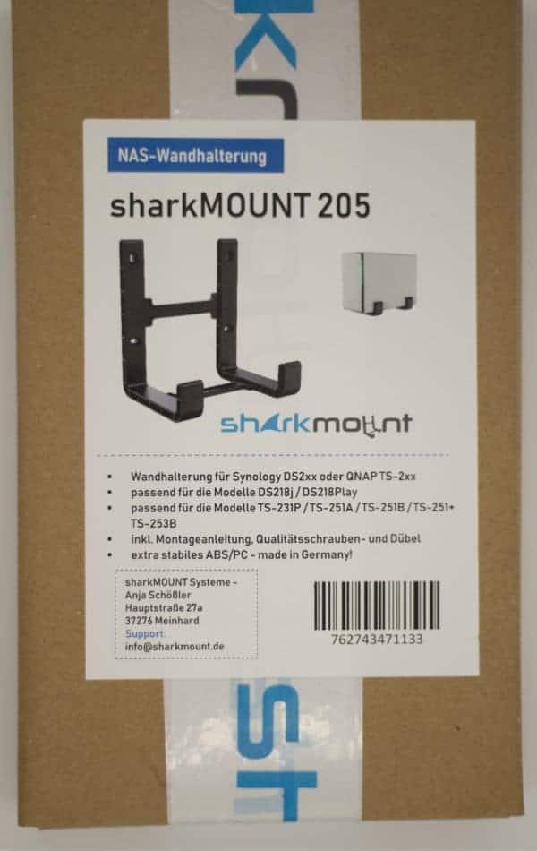 Sharkmount 205 Verpackung