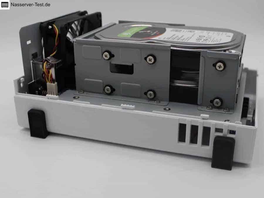 DS220j Festplatten
