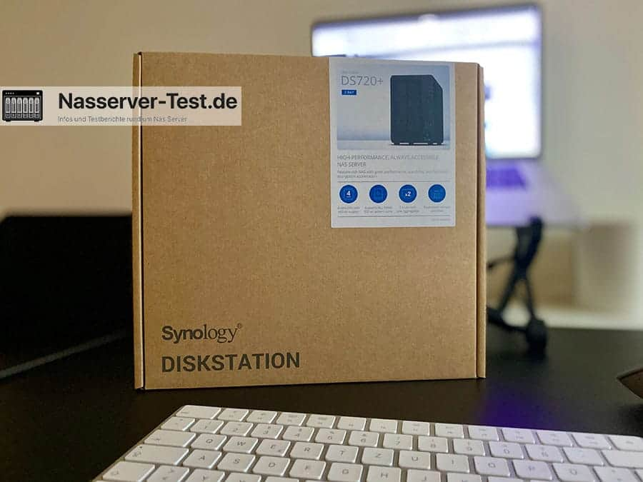 DS720+ Verpackung